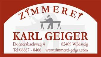Zimmerei Geiger Wildsteig